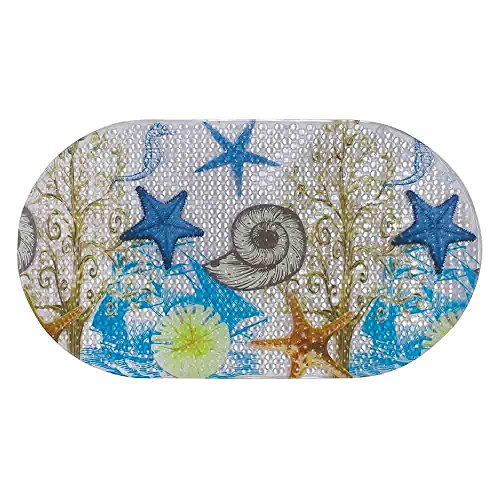 Freelance PVC Shower Mat, Bathroom Bath Tub Non Slip Grip Bathmat, (69 x 39 cm)