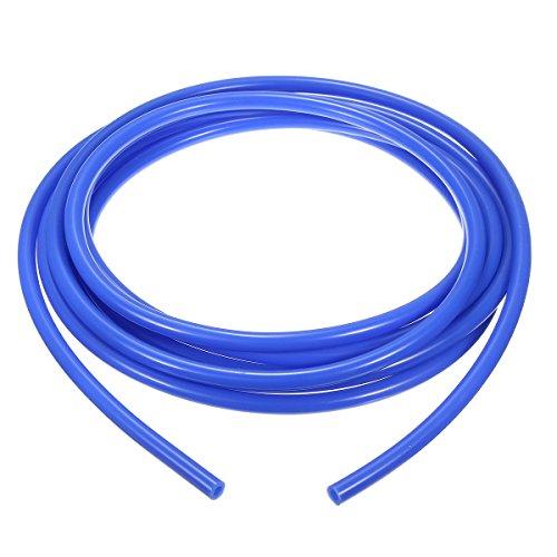 ChaRLes 5 Meter 5Mm Silikon Vakuum-Schlauch Tube Tubing Line Pipe 16,4 Feet Cable Blue Black - Blau (Elektro-kamin Blue)