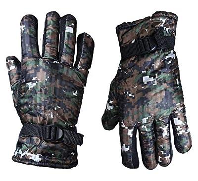 Zacharias Men's Winter Gloves Green Free Size HS-65