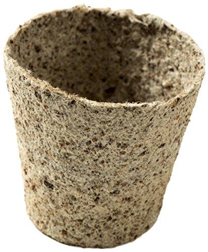 Nutley's Lot de 8 cm d'épaisseur Fibres de Coco biodégradable Flexible 2 Pots de Fleurs (24)