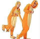 Charmander Adult Men Women Unisex Animal Sleepsuit Kigurumi Cosplay Costume Pajamas...