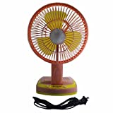 #7: JY SUPER 5590 Powerful Rechargeable Fan with 21SMD LED lights