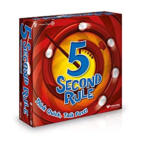 5 Second Rule- Juego de Cartas, Multicolor (Interplay UK Ltd GF001)