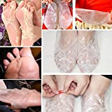 Fuß Haut Glatte Peeling Maske Fuß Maske Entfernen Tote Haut Fuß Maske Peeling Nagelhaut Ferse Füße Pflege Anti Aging Maske (B)