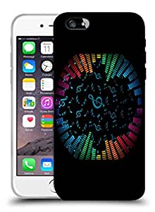 Snoogg Music Strings Designer Protective Back Case Cover For IPHONE 6 PLUS