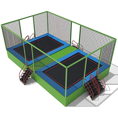 KY Outdoor Garten Trampolin Indoor-Trampolin for Kinder CE-zertifiziertes Kommerzielles Indoor-Trampolin Park