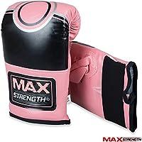 Max Strength Gants de Boxe Rex Cuir LXL/SM Grappling Punch Mitaines d'entraînement