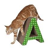 sunshineworldauk Katze Scratcher Boards Lounge Haustier Pappe Betten Kratzen Spielzeug