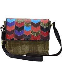 Shankar Produce -Fashionable Ladies Canvas Bag - Stylish Hand Held Bag - Designer Bag - Dark Beige
