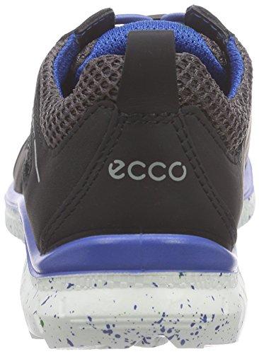 ECCO Biom Trail Kids, Scarpe da Ginnastica Unisex – Bambini Multicolore (Mehrfarbig (BLACK/SLATE59458))