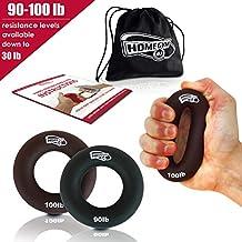 Unterarmtrainer Hantel Handtrainer Fingertrainer 113KG Fingerhantel 250lb