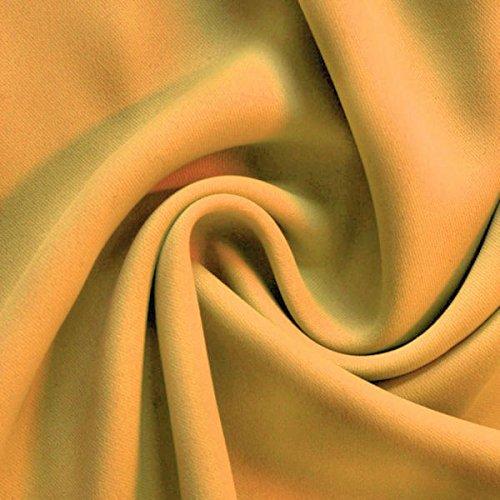 Verdunkelungsstoff Thermo Vorhangstoff Meterware Gelb