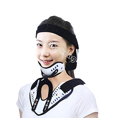 Hals Unterstützung Knieorthese verstellbar Halskrause fixiert Traktion Hosenträger
