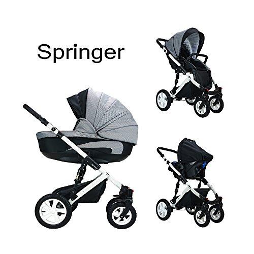 Springer Kinderwagen 3-in-1   im Test