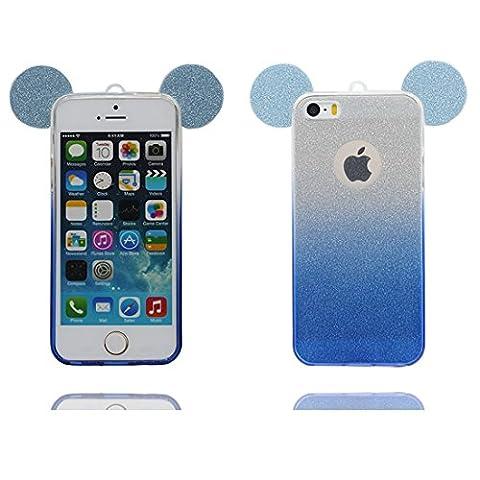 iPhone 5 étui Cover Housse, Coque iPhone 5S SE 5C