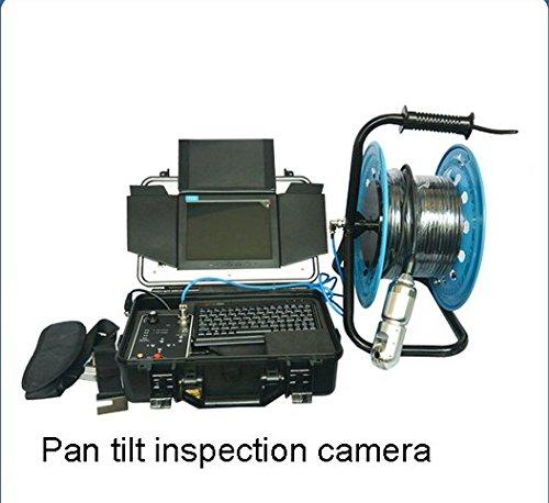 Gowe 700TVL 30M Gut Wasser Rohr Inspektion Video Kamera mit 360Grad drehbar Sensor Größe: 1/10,2cm; horizontale Auflösung: 700TVL; Signal System: PAL