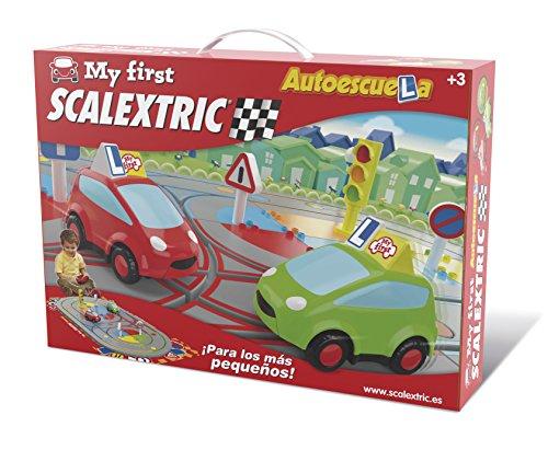 My First Scalextric - Circuito Mi primera Autoescuela para niños de 2 a 4 años