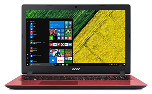 Acer Aspire 3 A315-51 15.6-inch Laptop (7th Gen Intel Core i3-7130U/4GB/1TB/Windows 10 Home 64 bit/Integrated Graphics), Red