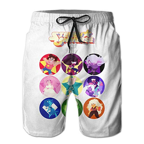 M Stevens Wrap (KLYDH Beach Yoga Pants Ladies Steven Universe Beach Coverup Shorts for Men Boys, Outdoor Short Pants Beach Accessories,Size:XX-Large)
