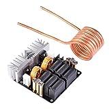 Calefacción conductor junta Kit 1KW ZVS baja presión sensorial Bobina de Tesla 12V-48V Flyback–Calentador de tipo Componentes Electrónicos DIY Temple recocido Metal fusión actual calefacción