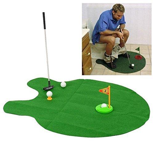 Töpfchen Putter WC Golf Spiel Set Golf Trainer Funny Neuheit Spielzeug Sport Produkt