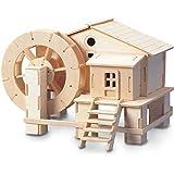 Rueda De Agua QUAY de artesanía en madera Kit de construcción FSC