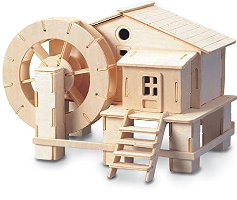 Water wheel QUAY Woodcraft Construction Kit