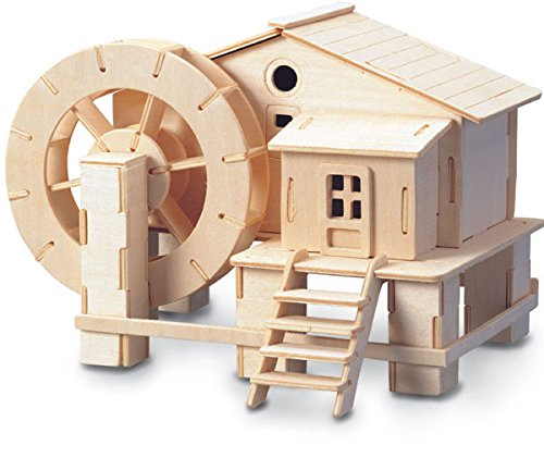 Water-wheel - QUAY Woodcraft Construction Kit FSC