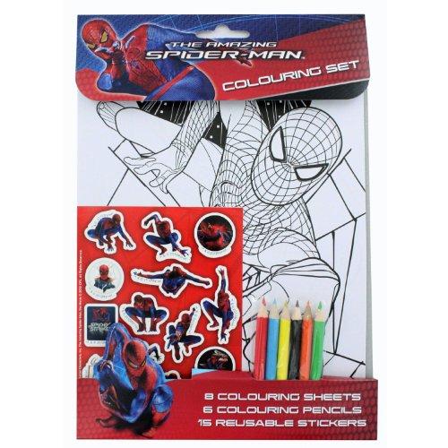The Amazing Spiderman: Colouring Set