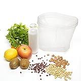 BESTOMZ, Beutel für Nussmilch–Seihtuch und Lebensmittelsieb–für die Herstellung von Mandelmilch, Saft, Quark, griechischem Joghurt –langlebiger, wiederverwendbarer Beutel–Feinnetz-Nylon