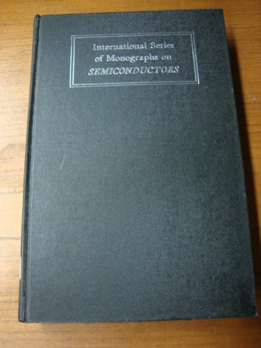 Electroluminescence (Monographs on Semiconductors)