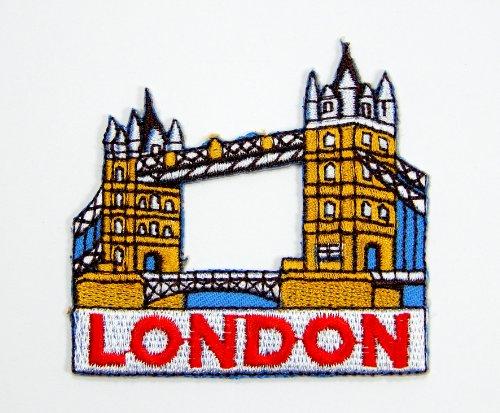 Hierro parches puente Londres puente torre logo parche