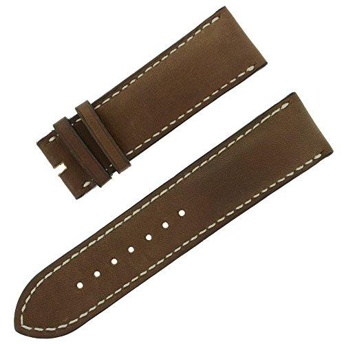 chopard-23-22-mm-marron-fonce-en-cuir-veritable-bande-de-montre-pour-hommes