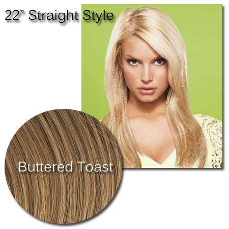 jessica-simpson-hair-do-22-inch-straight-clip-in-hair-extensions-buttered-toast-blonde