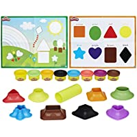 PLAY-DOH B34041020 Shape and Learn Colours and Shapes