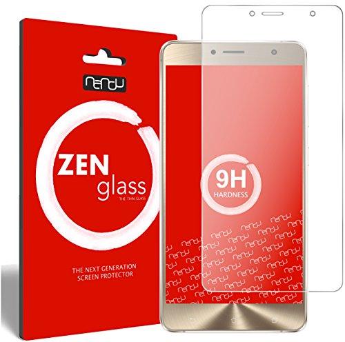 nandu I ZenGlass Flexible Glas-Folie für ASUS Zenfone 3 Deluxe ZS550KL 5,5 Zoll Panzerfolie I Bildschirm-Schutzfolie 9H