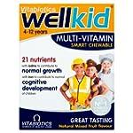 Vitabiotics Well Kid Chewable Smart M...