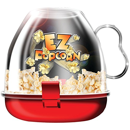CONNECTWIDE® POP CORN MAKER Color- Assorted,Qty(.1pck) Dimensions: 15.2 x 15.2 x 15.2 cm ; 272 g  available at amazon for Rs.499