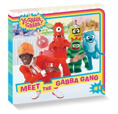 Yo Gabba Gabba 8 x 8 Value Pack: Baby Teeth Fall Out, Big Teeth Grow!; It's Nice to Be Nice!; It's Nice to Meet You; Let's Get Cleany-Clean!; Meet the Gabba Gang; Let's Use Our Imaginations! by Various (2011) Paperback -
