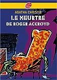 Le meurtre de Roger Ackroyd - Livre de Poche Jeunesse - 07/11/2007