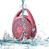 WhiteLabel SoundDew Bluetooth Altavoz Resistente al Agua (Rosa)