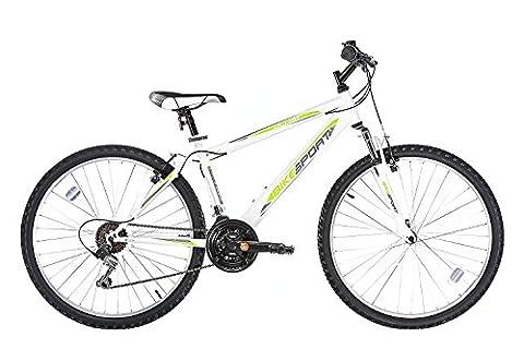 26 Zoll Bikesport ULTRA Mädchenfahrrad Damen Mountainbike, Shimano 18 Gang