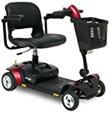 Pride Go Go Elite Traveller LX 4 Wheeled Portable Car Boot Travel Mobility Scooter - 17 Amp
