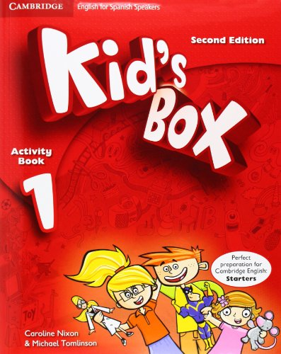 Kid's Box for Spanish Speakers Level 1 Activity Book with CD-ROM and Language Portfolio Second Edition - 9788483238622 por Caroline Nixon