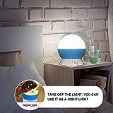 Projektor Lampe, Omitium LED Sternenhimmel Projektor Nachtlicht 360°Drehbare Kinder Lampe, Einschlafhilfe mit Farbspiel, Perfekt für Kinderzimmer, Schlafzimmer, Geburtstag, Parteien, Weihnachten - 4
