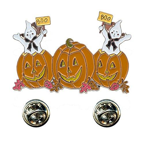 Halloween Geister Walpurgisnacht Kürbis Metall Button Badge Pin Anstecker 0218 -