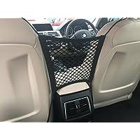 Seatmaster, seggiolino auto Storage mesh riduce auto disordine. Poggiatesta bonus (4ganci). Crea spazio tra i sedili per bambini/Pet Stuff con un carico net organizer. It' s the Universal car accessories