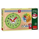Goula - 51318 - Jouet De Premier Age - Horloge Calendrier Français