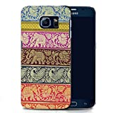 Mobile Case Mate Samsung Galaxy S6 G9200 clip on Silicone case cover bumper and Stylus pen - ELEPHANT pattern (SILICON)