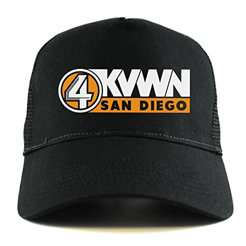 anchorman-kvwn-channel-4-news-trucker-cap-one-size-fits-all-black